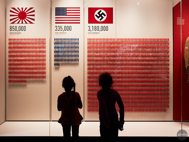 Eye Opening Graphics, The National WWII Museum - New Orleans, Louisiana