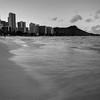 Water in Motion, Waikiki Beach - Honolulu, Hawaii