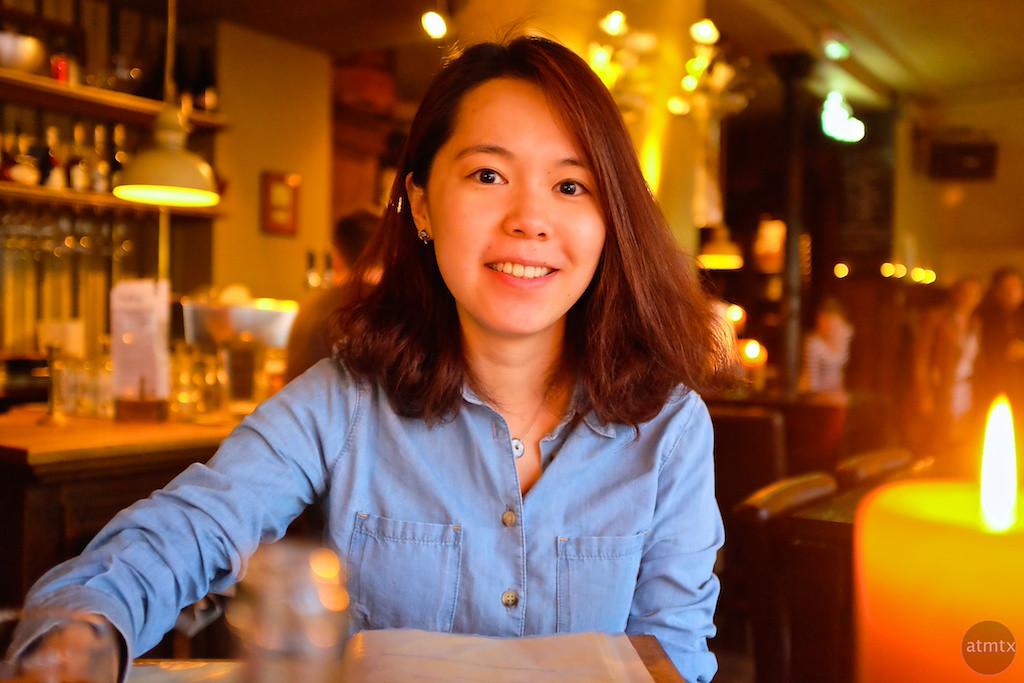 Corrine at Dinner - Breda, Netherlands