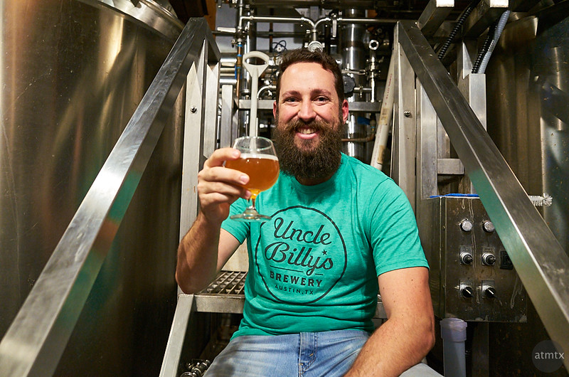 The Brewmaster at Uncle Billy's - Austin, Texas