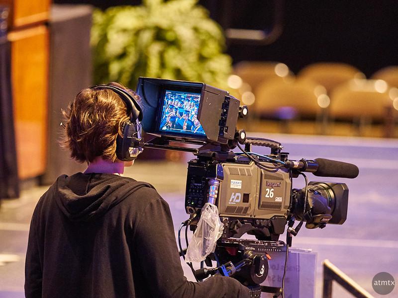 The Graduation on Television - Austin, Texas