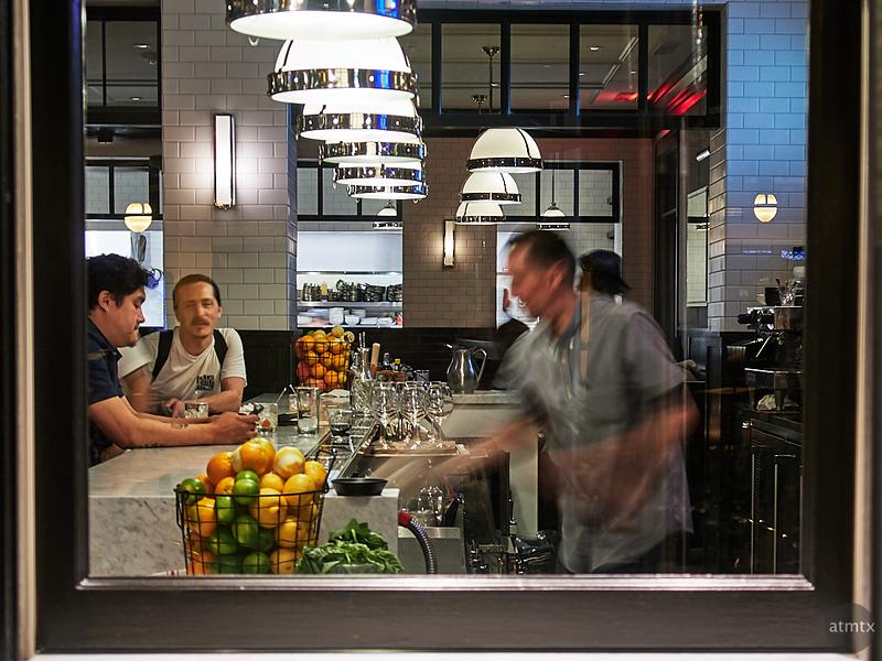 Bartender Blur, Santana Row - San Jose, California