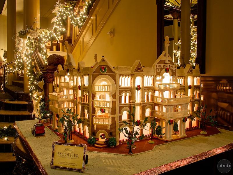 2013 Gingerbread Driskill - Austin, Texas