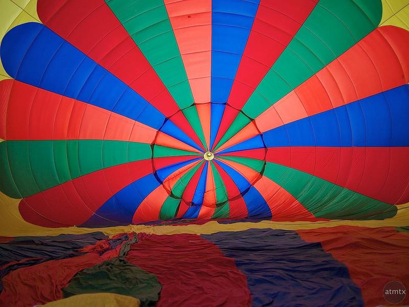 Colorful Pattern, 2011 Lake Travis Flight - Austin, Texas