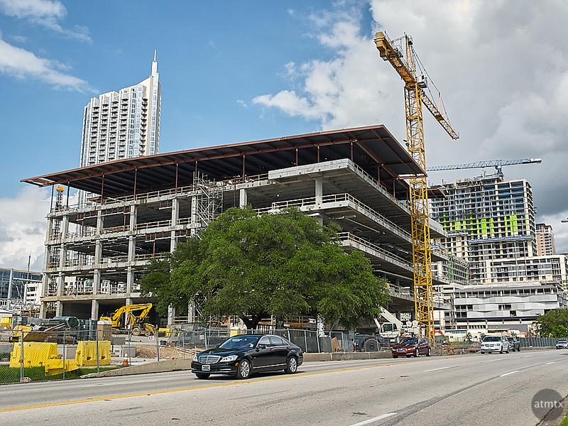 Central Library Under Construction - Austin, Texas