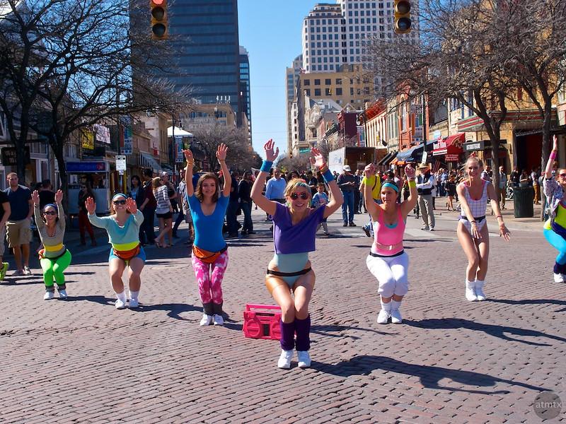 Dancing on 6th Street, SXSW Interactive - Austin, Texas