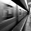 Subway Blur - Tokyo, Japan