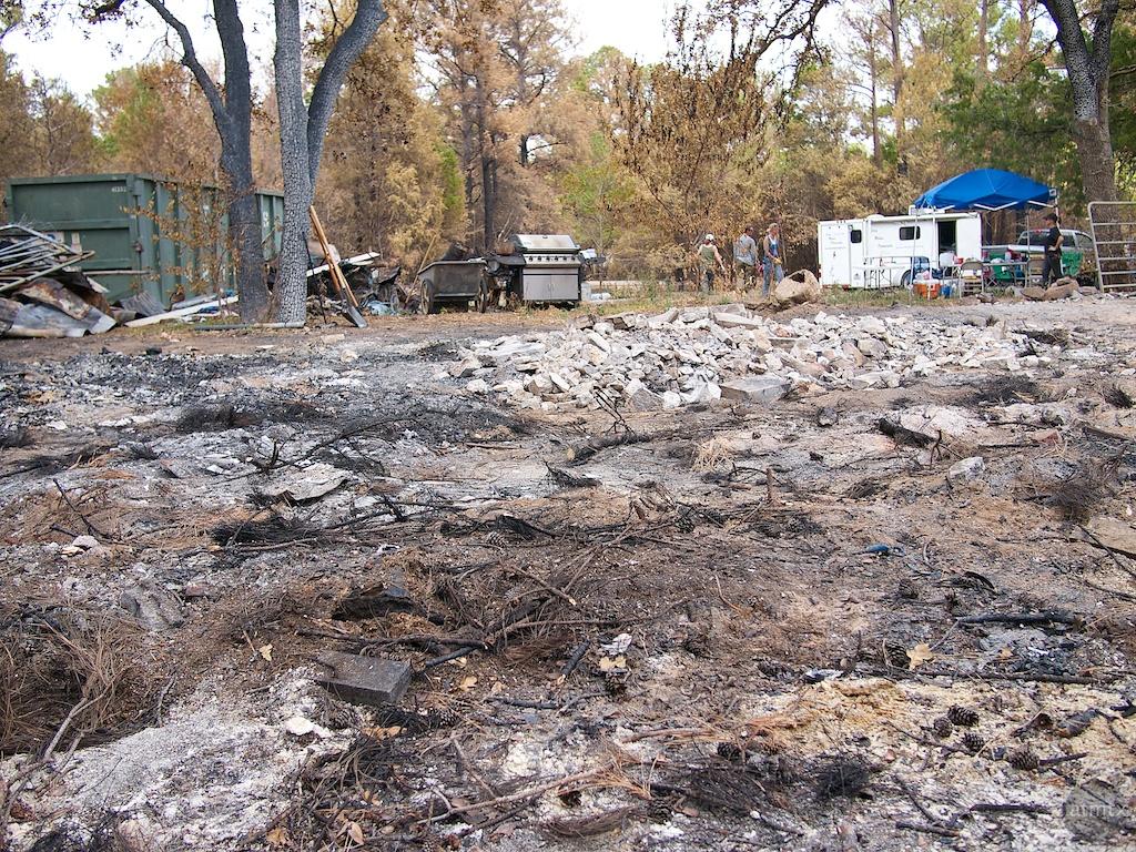 House Remnants, Bastrop Fire - Bastrop, Texas