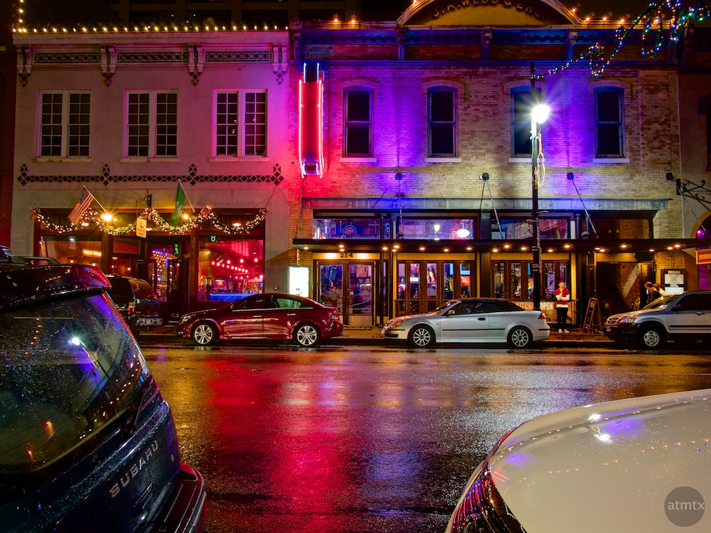Austin 6th Street Halloween 2020 Rain Waiting for the perfect night to capture 6th street – atmtx photo blog