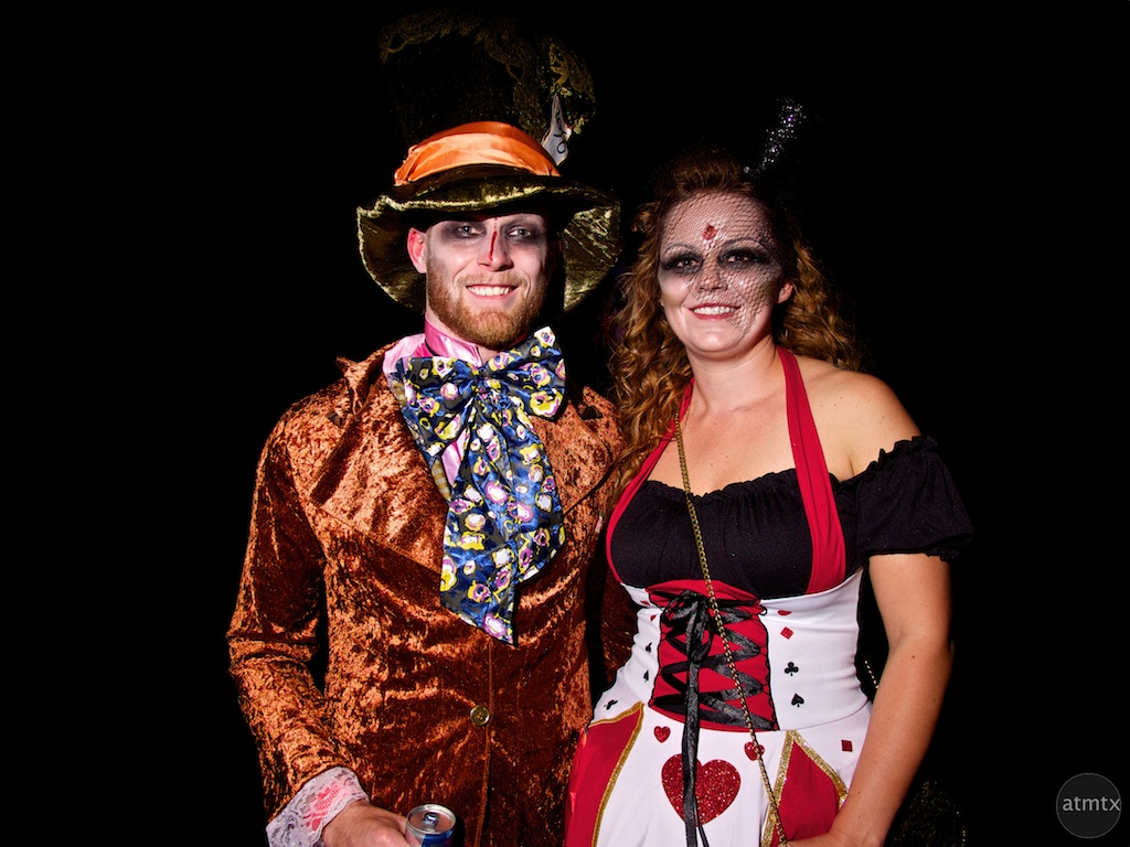 Portraits, Halloween on 6th Street - Austin, Texas