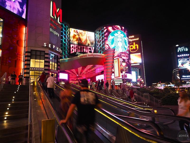 Motion Blur at the M - Las Vegas, Nevada