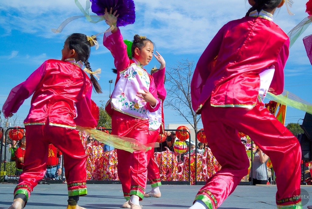 On Stage #2, 2014 Chinese New Year Celebration - Austin, Texas