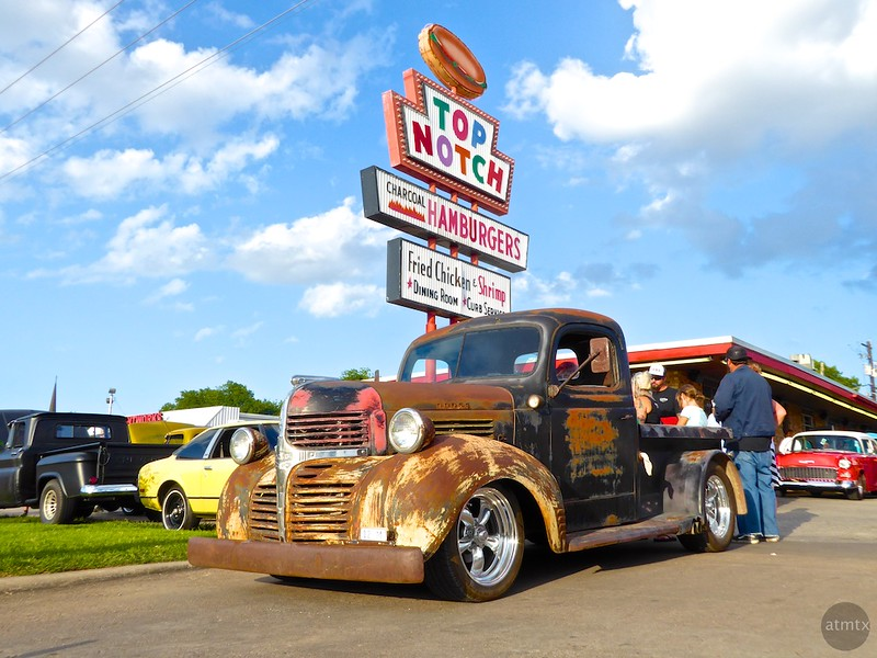 Hot Rod Night at Top Notch - Austin, Texas