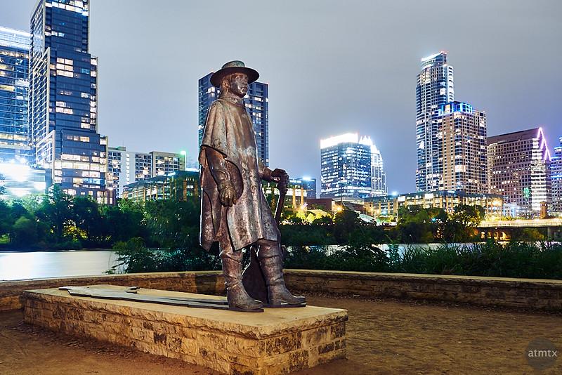 Stevie Ray Vaughan Statue - Austin, Texas