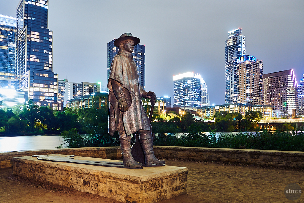 Stevie Ray Vaughan Statue - Austin, Texas