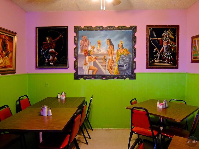 Gallery, El Azteca Restaurant - Austin, Texas