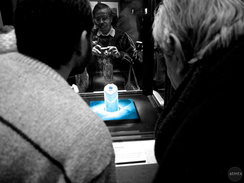 Hope Diamond, Smithsonian Natural History Museum - Washington DC
