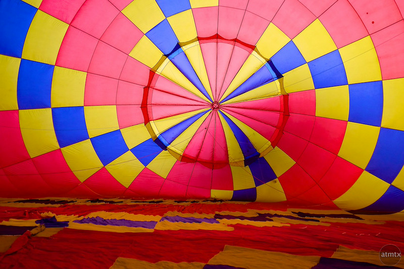 2014 Lake Travis Hot Air Balloon Flight #6 - Austin, Texas