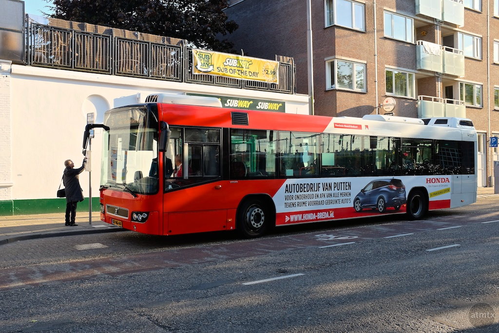 Bus by the Station - Breda, Netherlands