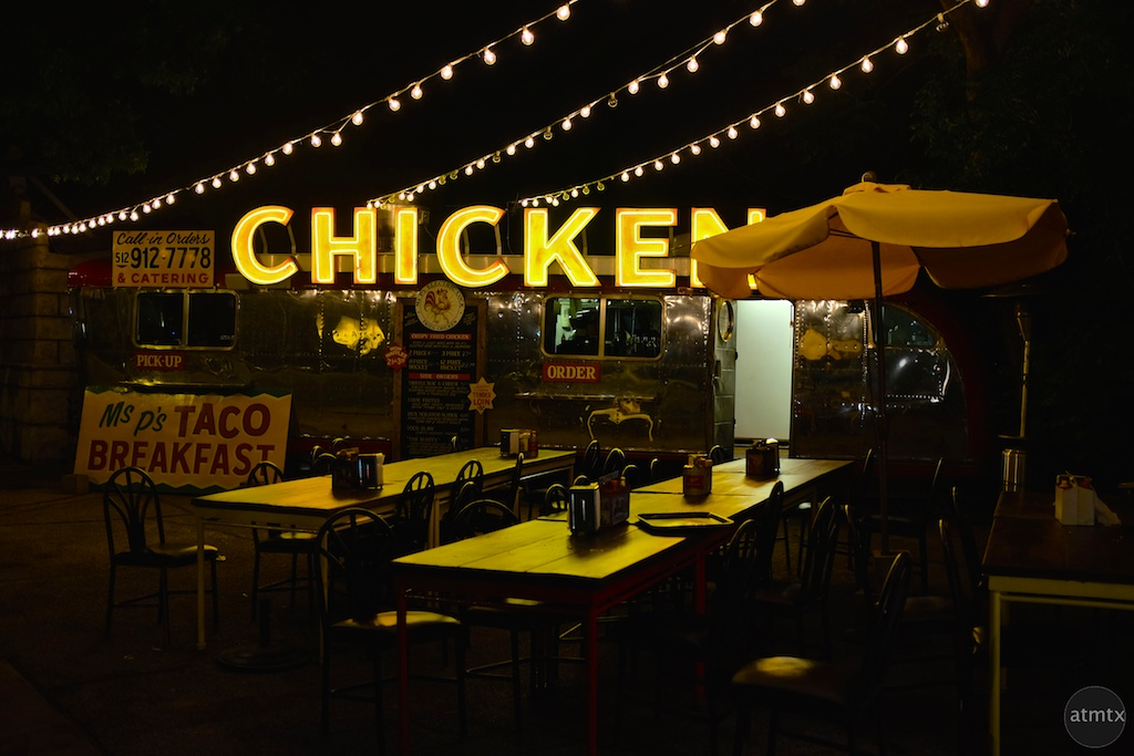 Chicken Neon, South Congress Avenue - Austin, Texas