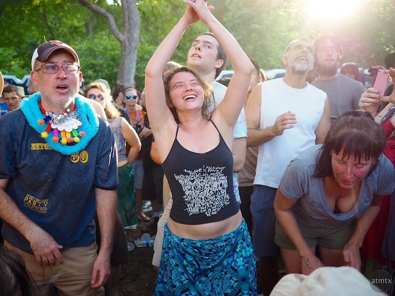 Drum Circle #1, Eeyore's Birthday Party 2015 - Austin, Texas