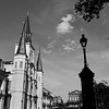 Light and Dark, Jackson Square - New Orleans, Louisiana