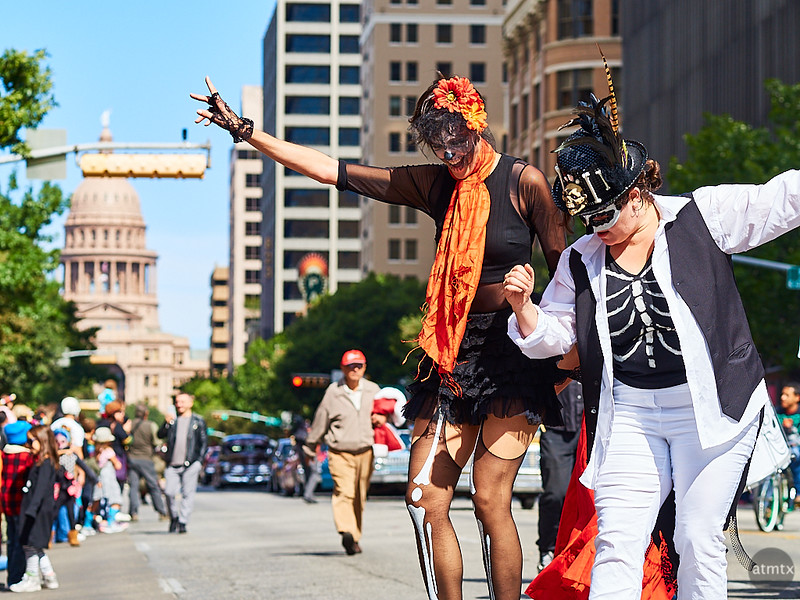 Dancing on Congress Avenue - Austin, Texas