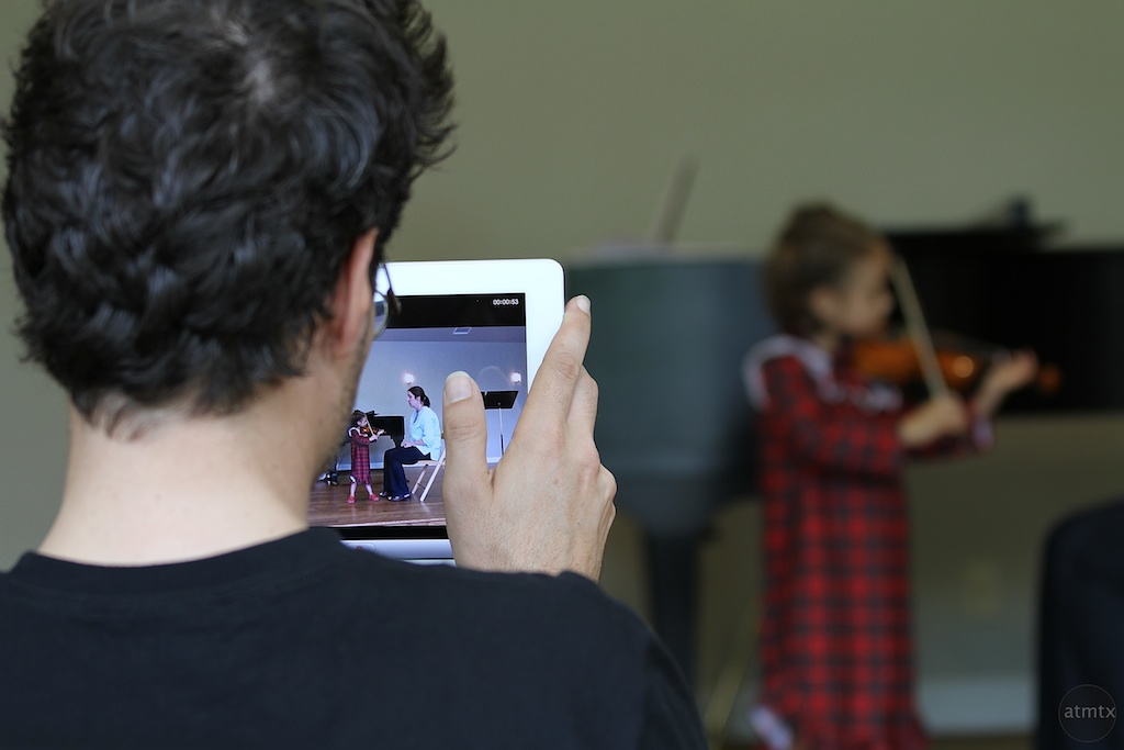 Shooting with the iPad has become common