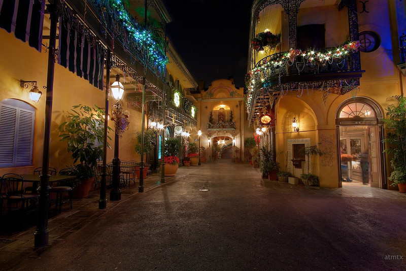 New Orleans Square, Disneyland - Anaheim, California