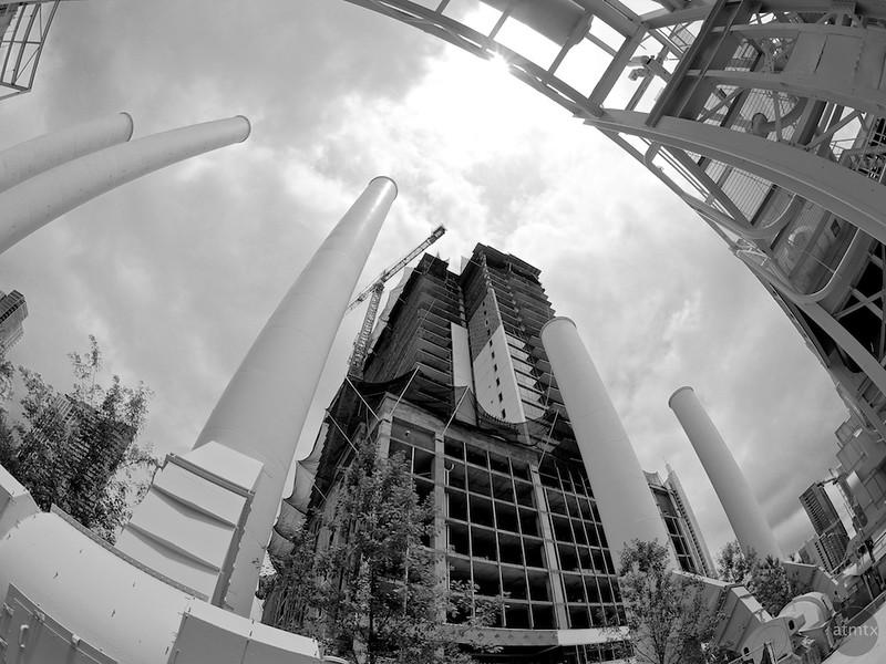 Smoke Stacks #2, Seaholm Development - Austin, Texas