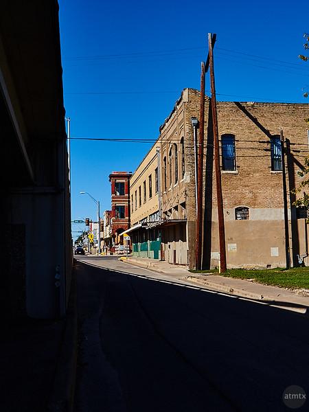 Bridge Shadow, Looming - Taylor, Texas