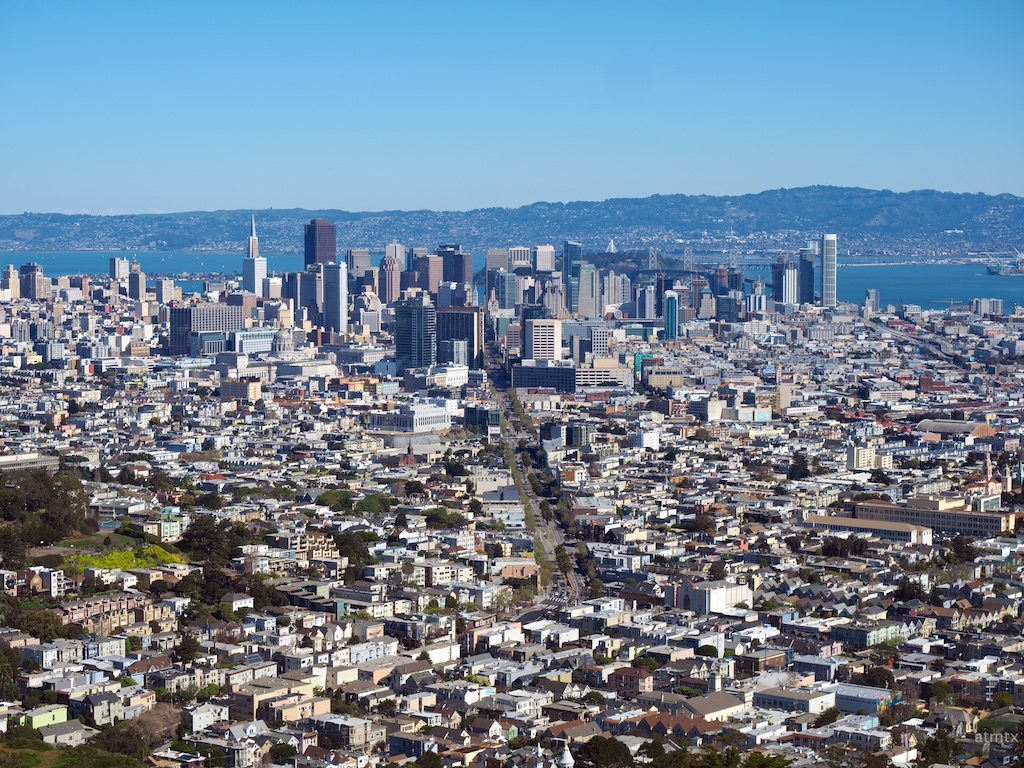 Twin Peaks View #2 - San Francisco, California