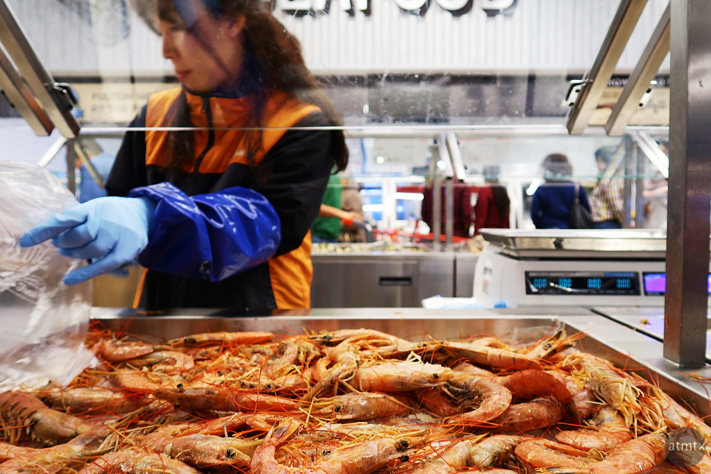 Whole Shrimp, H Mart - Austin, Texas