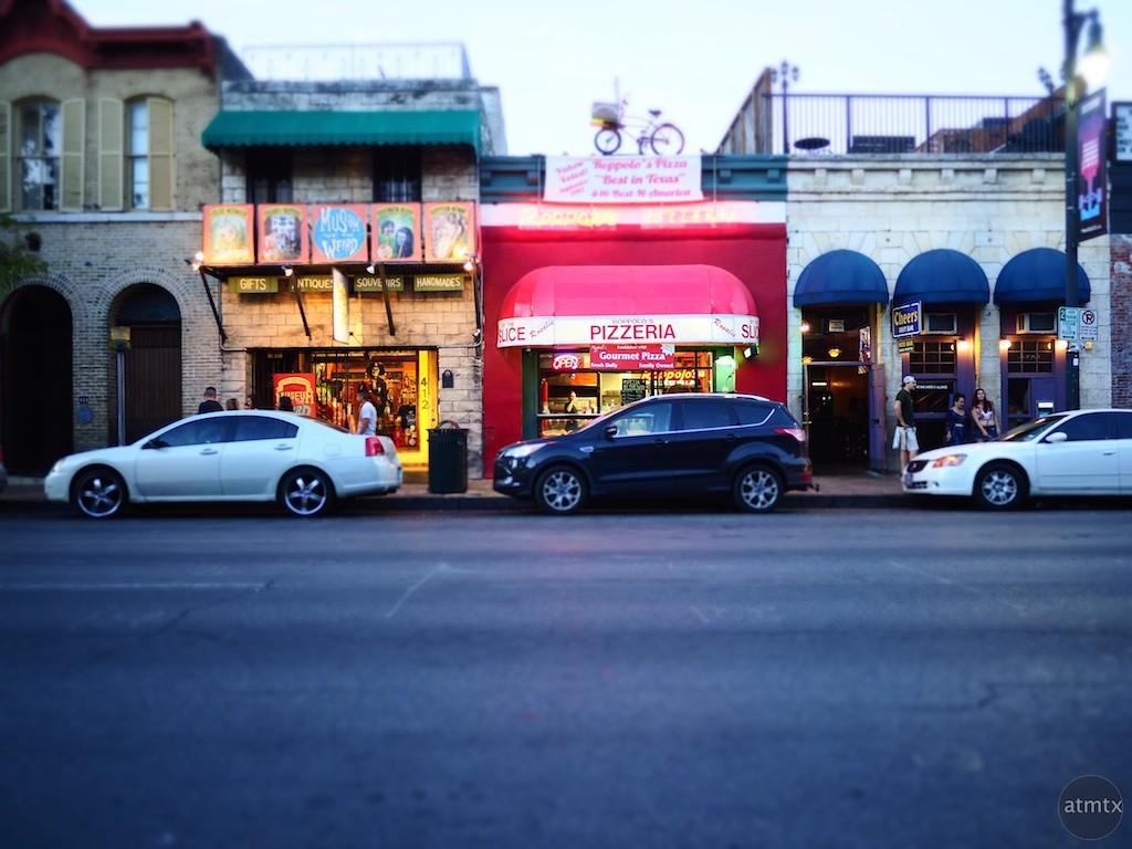 Pizzaria, 6th Street - Austin, Texas
