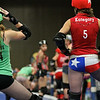Texas Roller Derby, Jammers Waiting - Austin, Texas