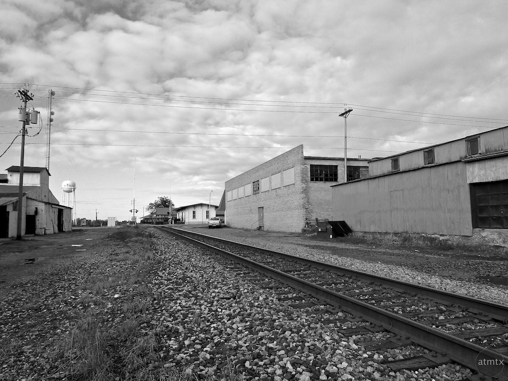 The other side of the tracks - Giddings, Texas