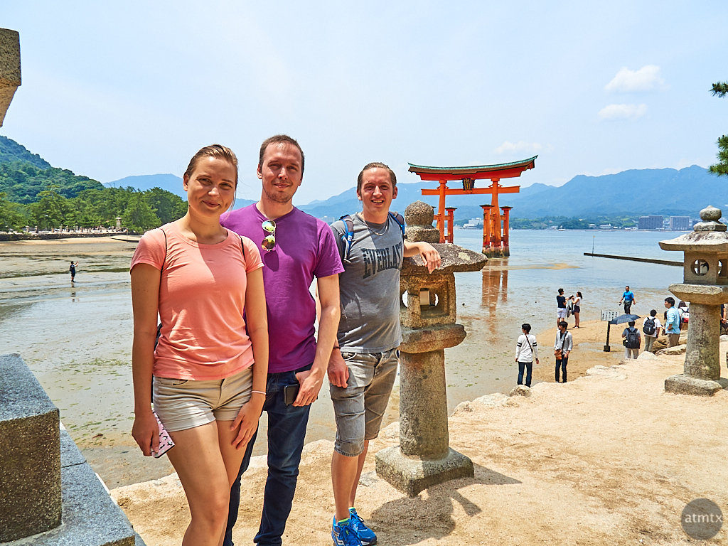 European Tourists - Miyajima, Japan