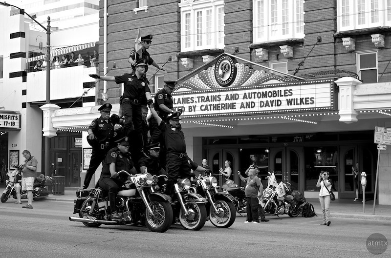 Mexican Motorcycle Acrobats, 2014 ROT Rally - Austin, Texas