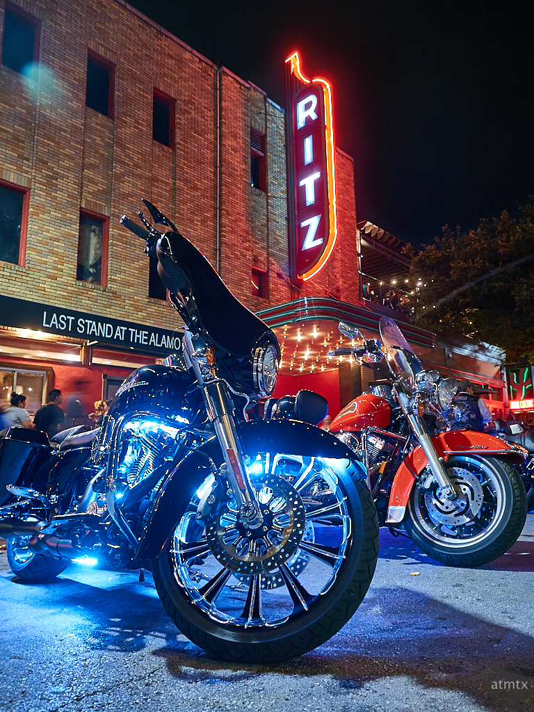 Harleys at the Ritz, ROT Rally - Austin, Texas