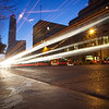 Congress Avenue Light Streaks (Color, Original) - Austin, Texas
