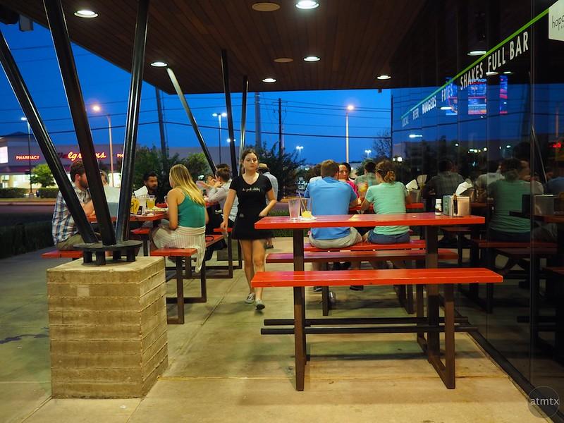 Blue Hour at Hopdoddy's - Austin, Texas
