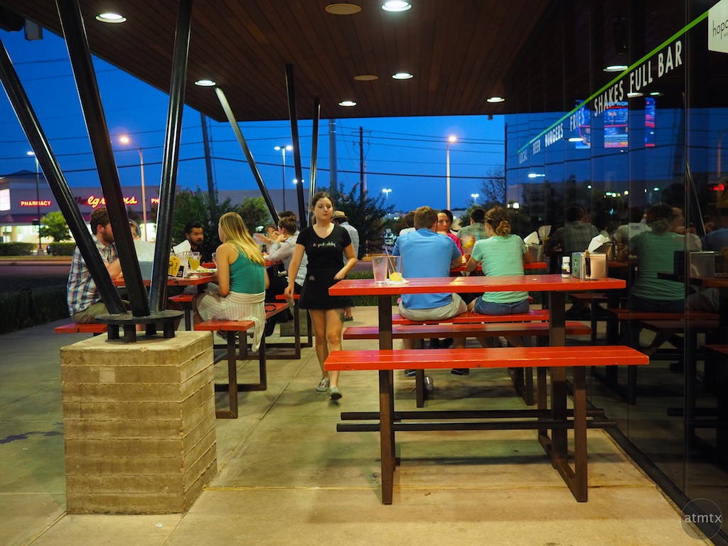 Blue Hour at Hopdoddy's - Austin, Texas
