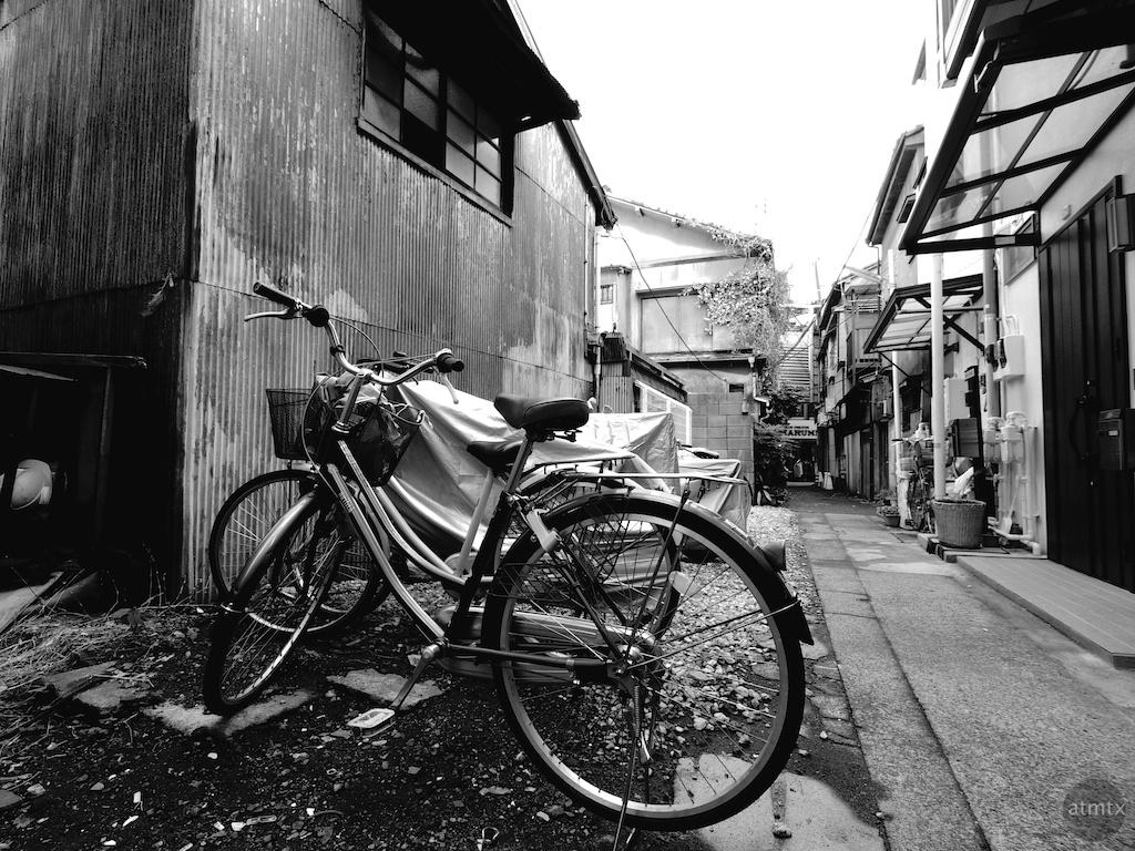 New Bike in an Old Neighborhood - Tokyo, Japan