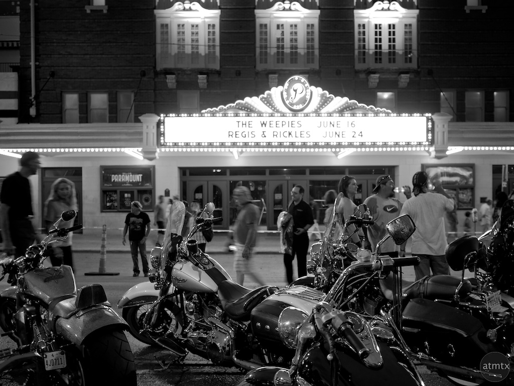 The Paramount after the 2015 ROT Rally Parade - Austin, Texas