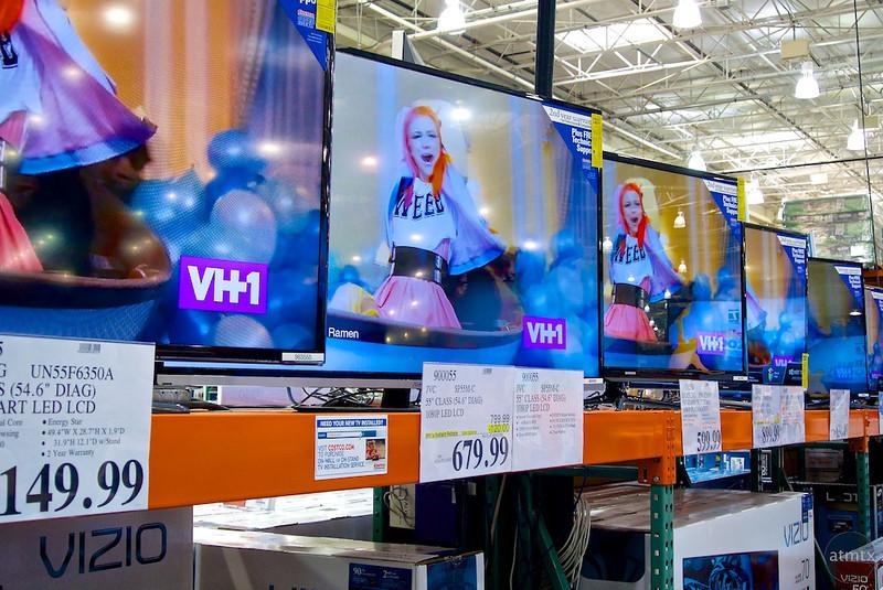 TVs For Sale, Costco - Austin, Texas