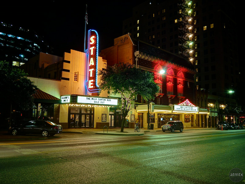 The State and Paramount Theaters - Austin, Texas