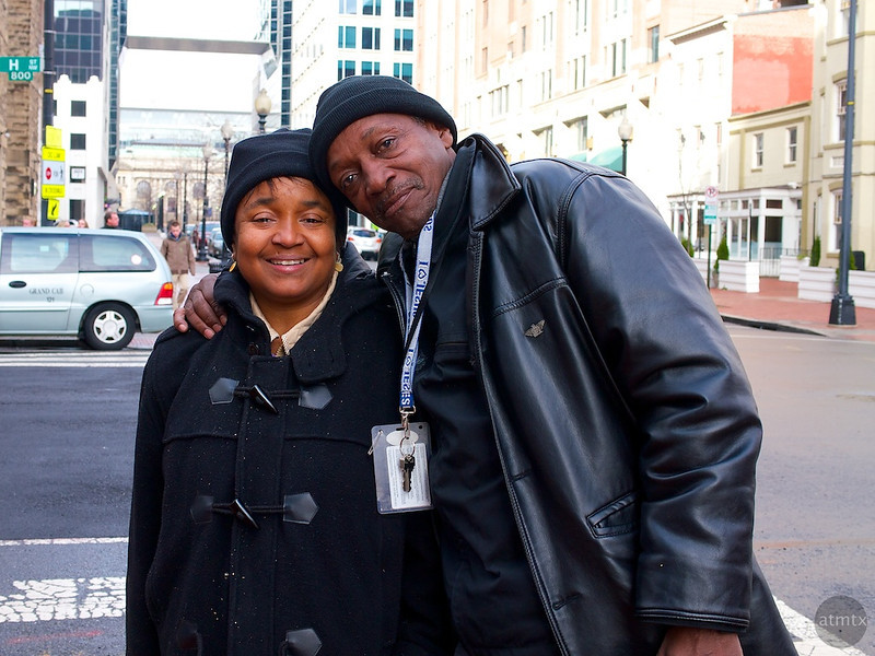 Michele and Lester, Near Chinatown - Washington DC