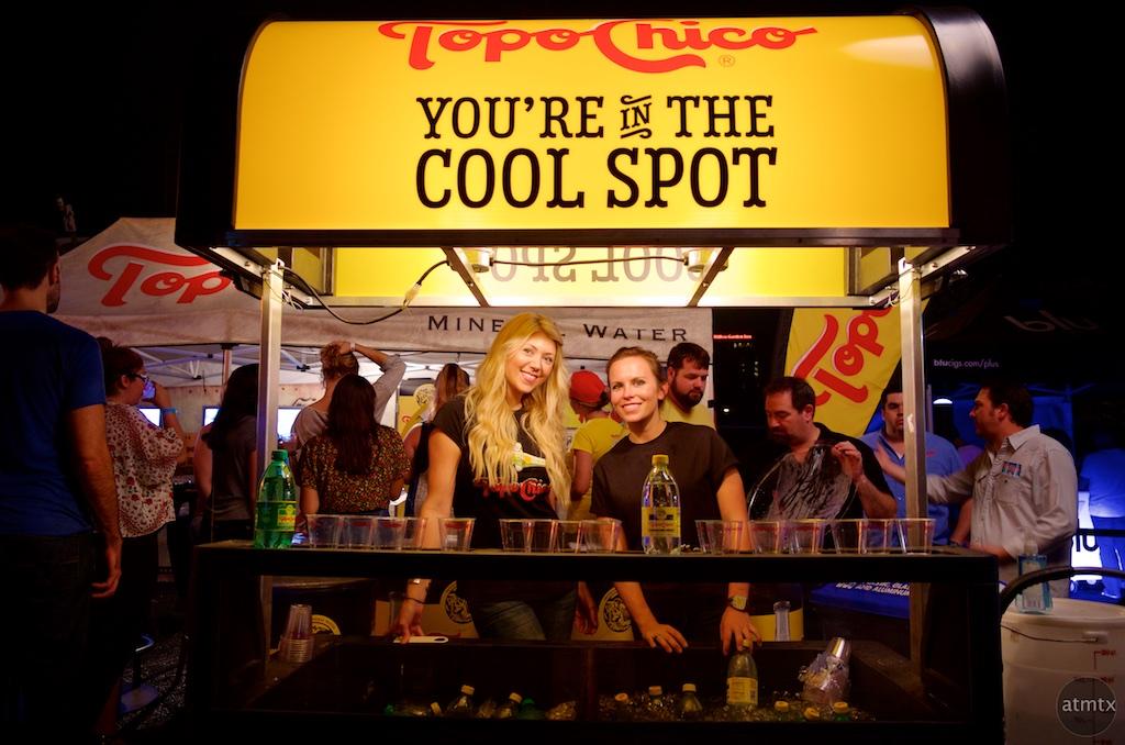 Topo Chico Booth, 2015 Fan Fest - Austin, Texas