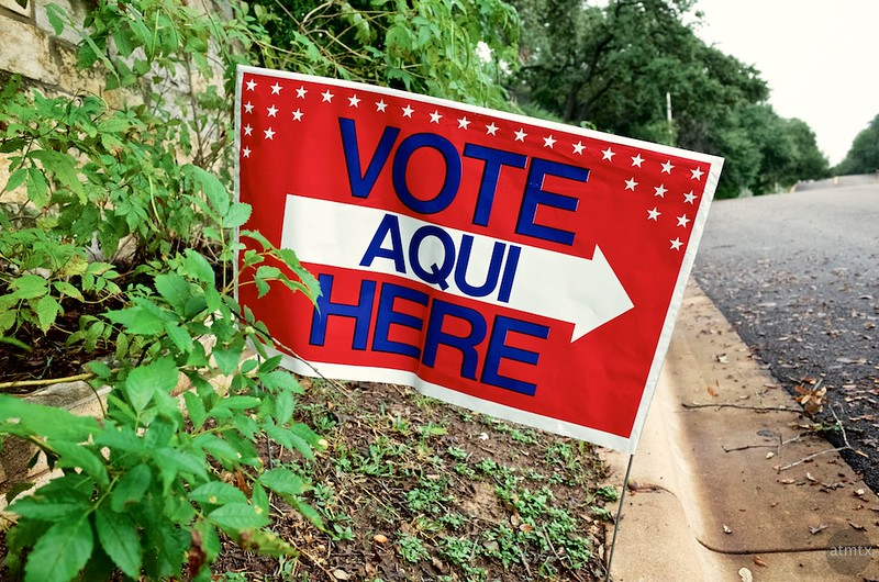 Vote Here, 2016 Election Day - Austin, Texas