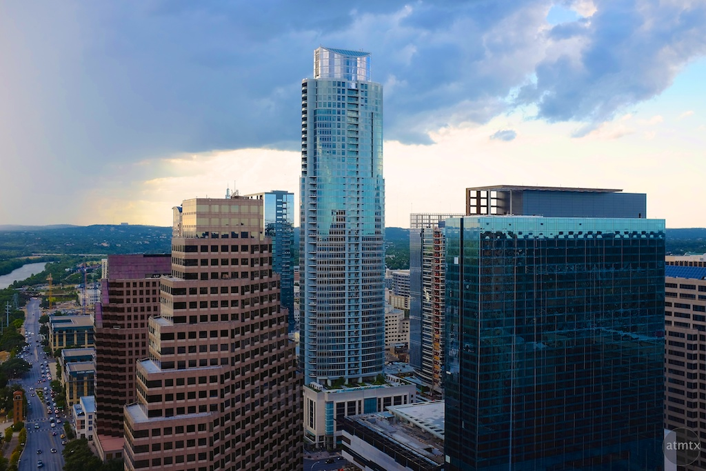 Downtown Austin from the Four Seasons Residences  - Austin, Texas